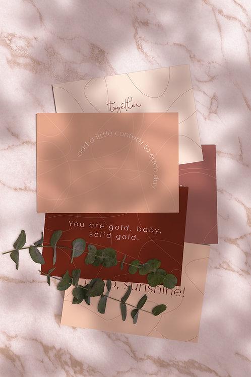 Postkaarten (set van 5)