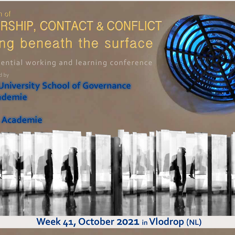 Leadership, Contact & Conflict working beneath the surface