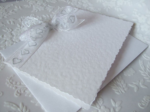 Sheer Romance White / Silver