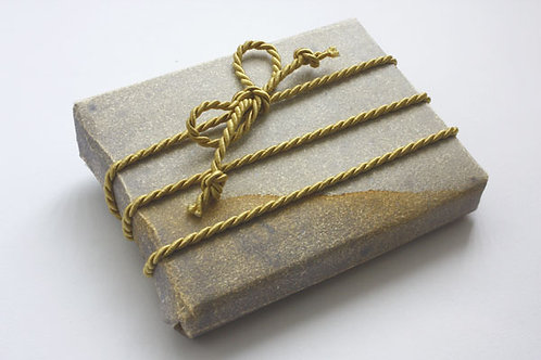 4mm Pale Gold Rayon Cord