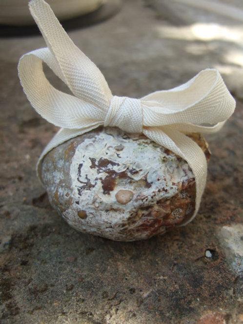 Unbleached Cotton Chevron Ribbon