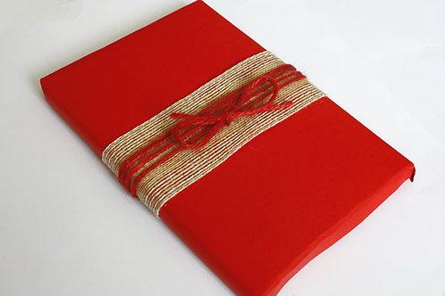 Red Natural Jute Twine (10m skein)