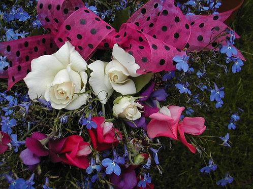Spotty Organza Pink