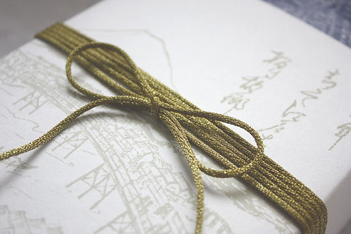 2mm Metallic Antique Gold Rope