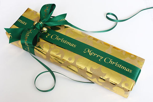 Merry Christmas Green / Gold