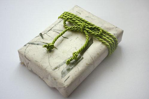 4mm Leaf Green Rayon Cord