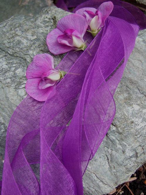 French Mousseline Purple