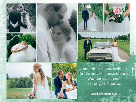 Junge Liebe im September - Hochzeitsfotografie in Winterlingen