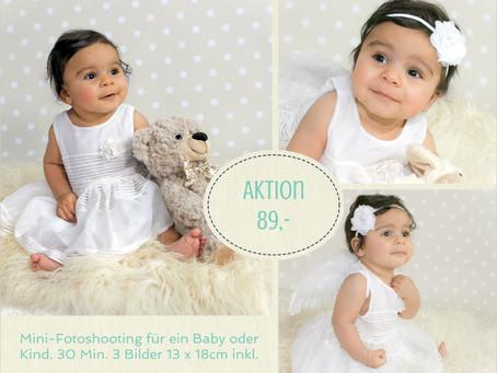 Baby - und Kinder Mini-Fotoshooting