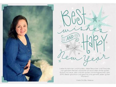 Beste Wünsche für das neue Jahr