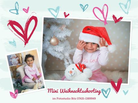Mini Weihnachtsfotografie