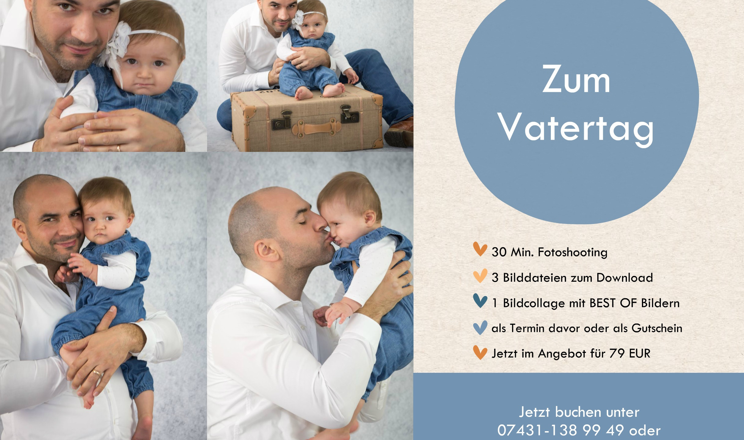 Vatertag Mini Fotoshooting