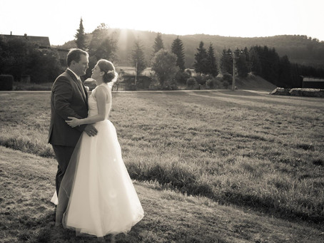 Die schöne Sommer-Hochzeitszeit...