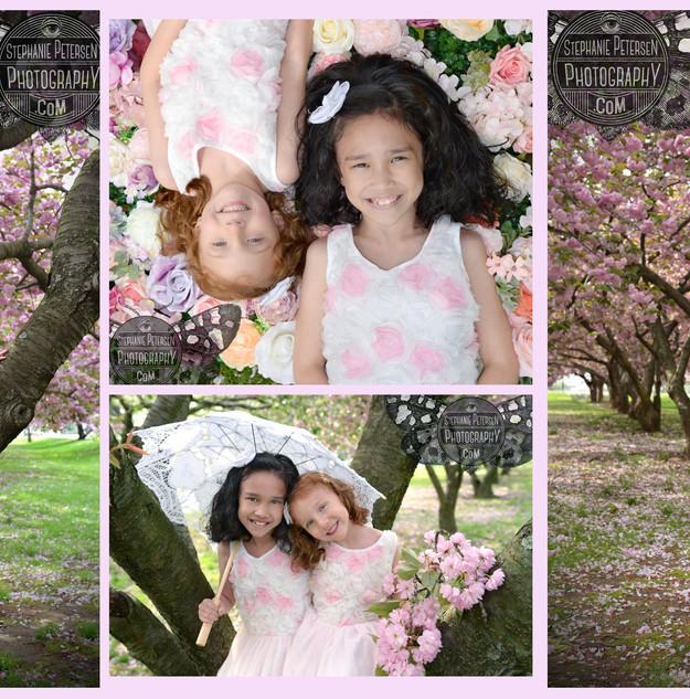 Cherry Blossom photoshoot on location Ba