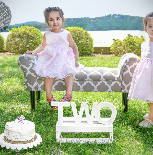 Twins! Sibling Birthday Portraits!