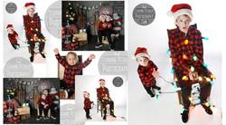 Sibling Christmas Photo shoot!