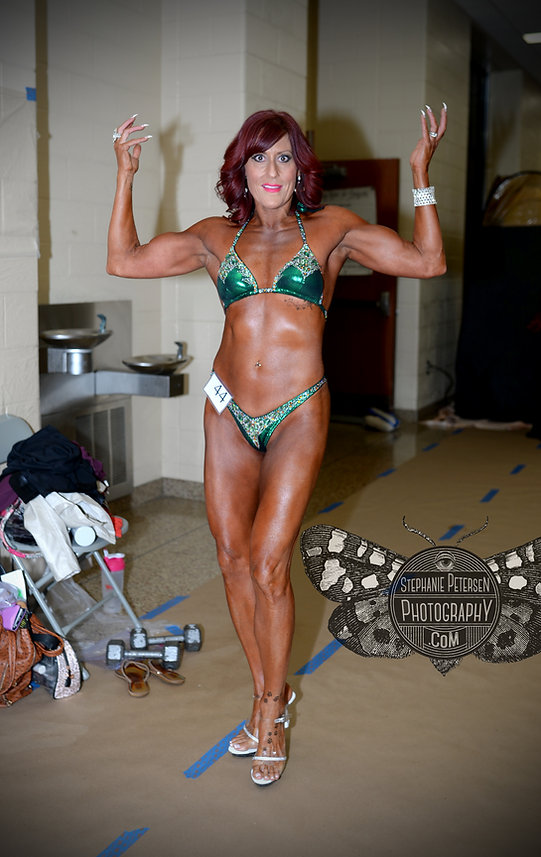 female body builders fitness photography