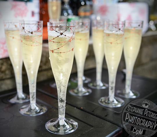Champagne toast!
