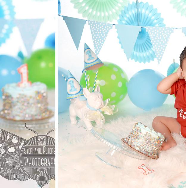 Baby Boy's First Birthday!!