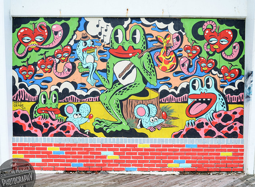 Matt Crabe Frog Day Afternoon Wooden Walls Project