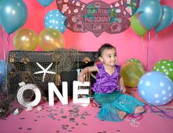 Baby's First Birthday- Mermaid theme
