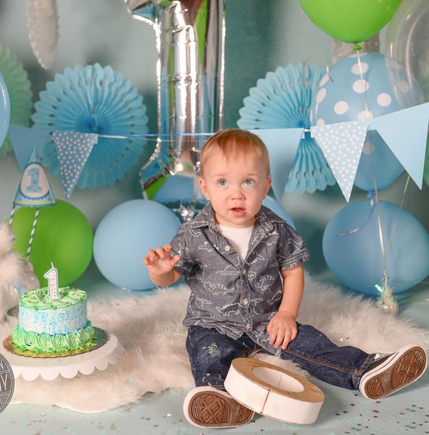 Baby Boy's First Birthday!