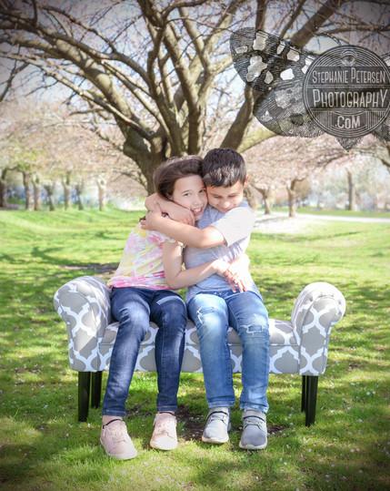 Springtime Sibling Photoshoot!