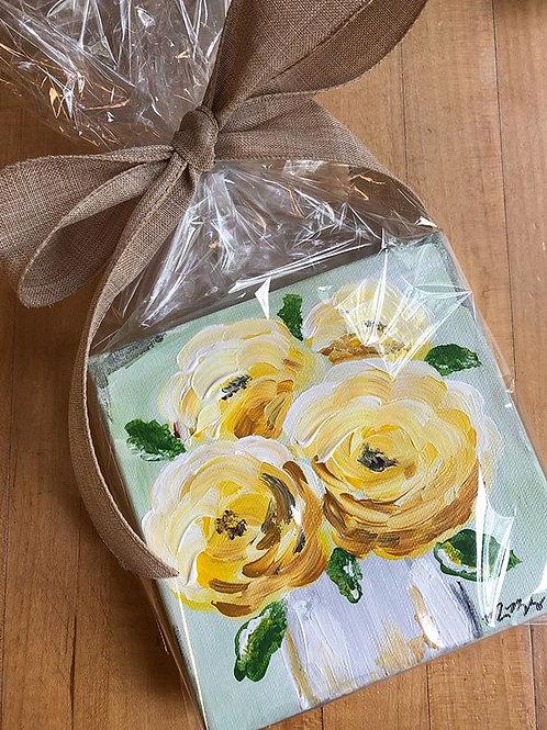 Floral Mini Canvas