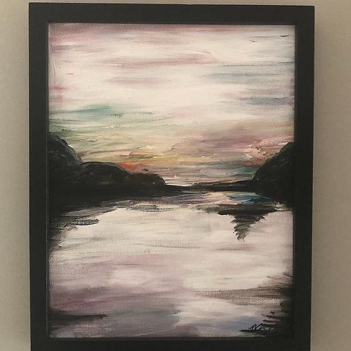 Abstract Landscape framed