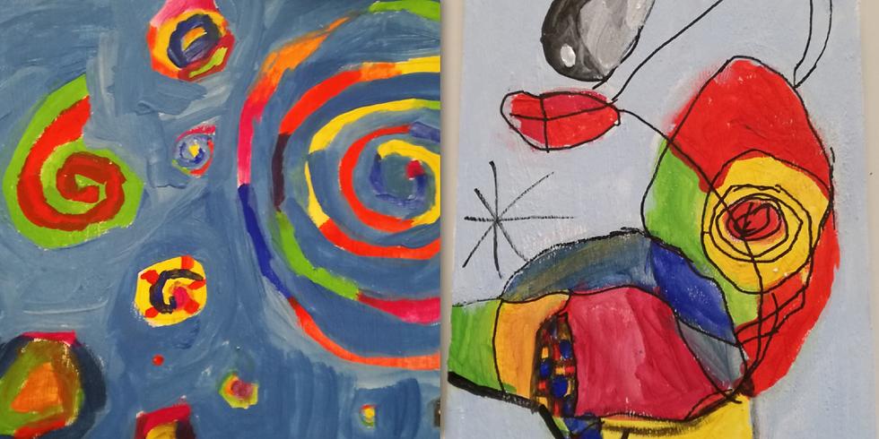 2020-01-20-2-SS | Sabine Sommer - Kreativität entfalten durch experimentelles Malen und Gestalten (4Nachmittage)