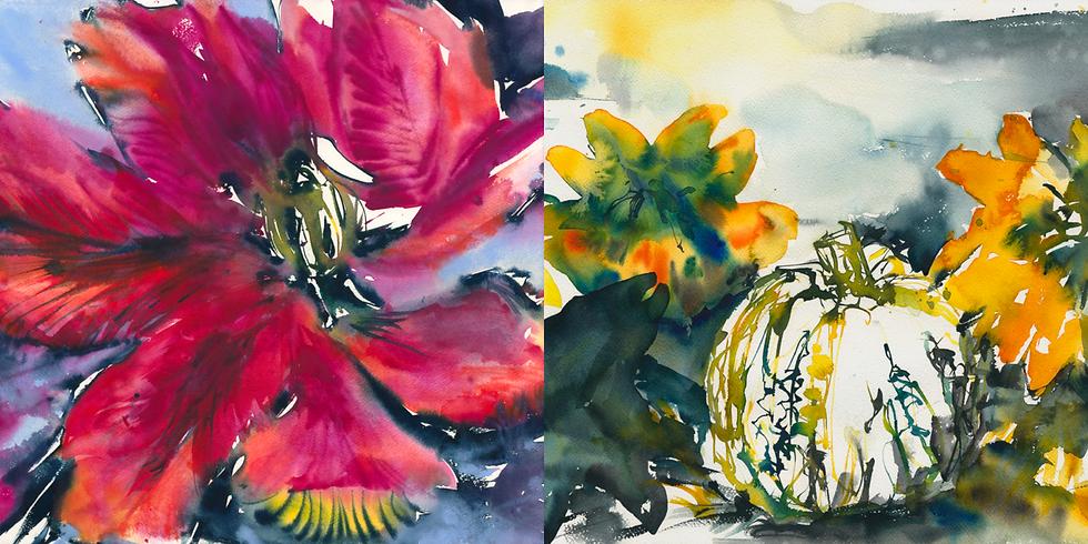 2020-10-23-JH | Jutta Höfs - Expressive Aquarellmalerei (3 Tage)
