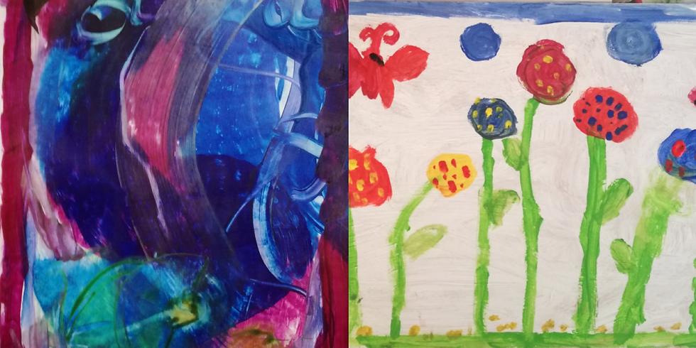 2020-06-22-1-SS | Sabine Sommer - Kreativität entfalten durch experimentelles Malen und Gestalten (4Nachmittage)