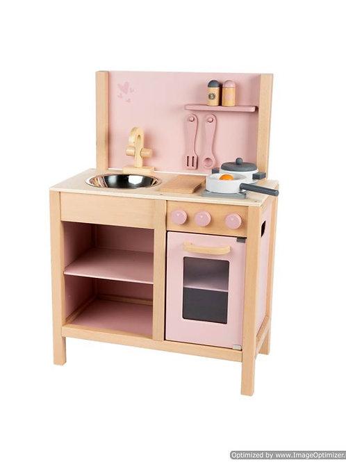 Keuken roze