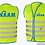 Thumbnail: Fun Jacket kinder fluohesje groen