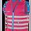 Thumbnail: Fun Jacket kinder fluohesje roze