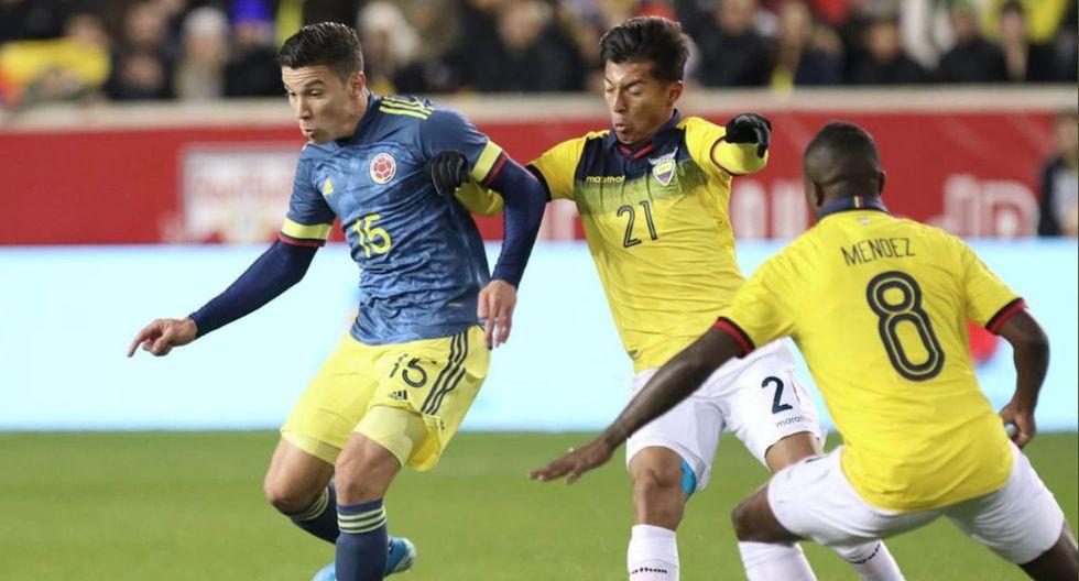 Ecuador Vs. Colombia FIFA