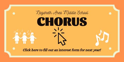 NAMS Chorus sign up