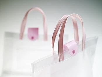 ビニールバッグ/シースルーバッグのOEM製造、オーダーメイド
