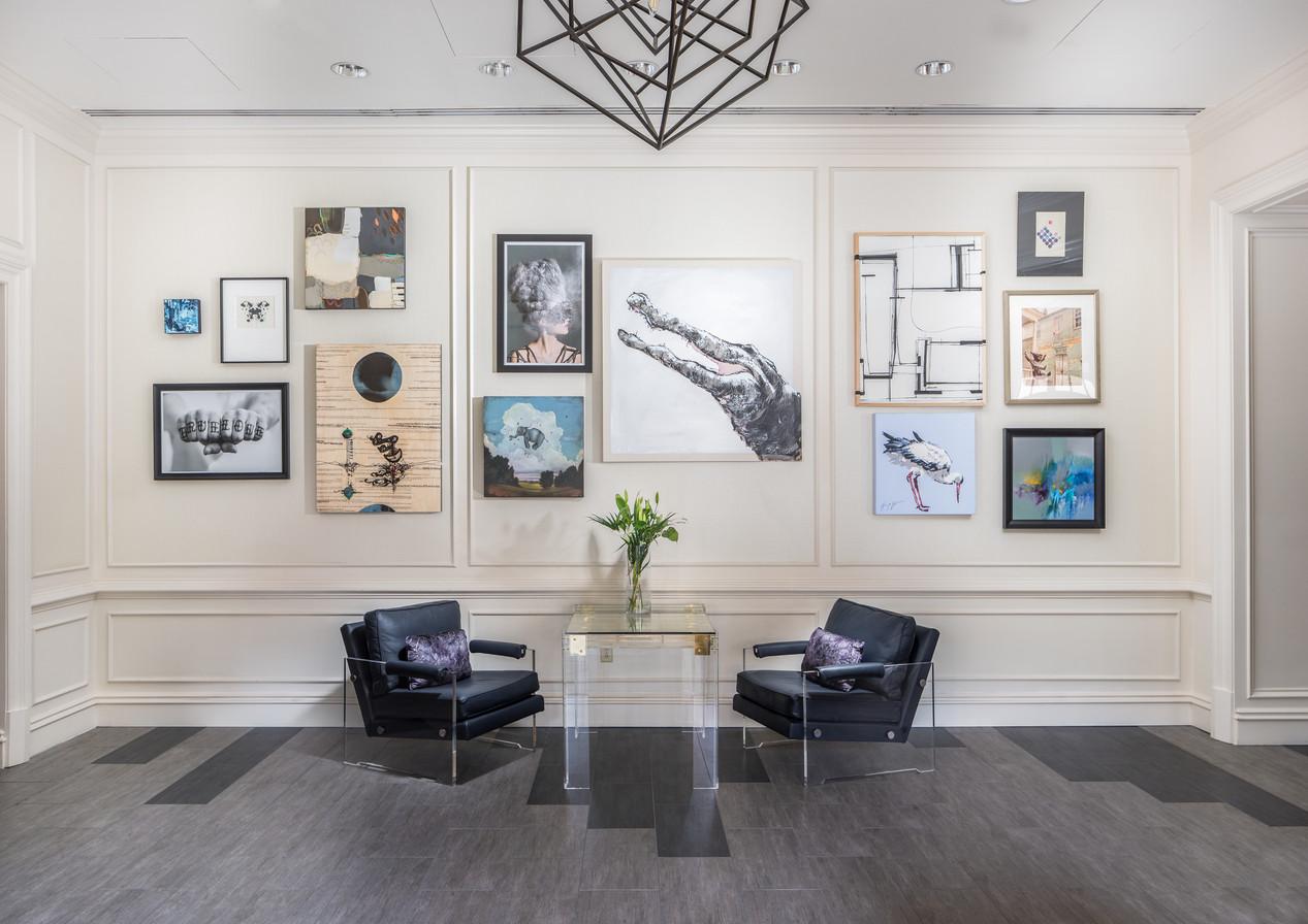 Custom Gallery Wall