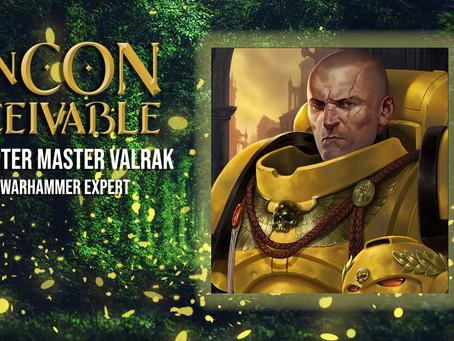 Guest Announcement - CHAPTER MASTER VALRAK