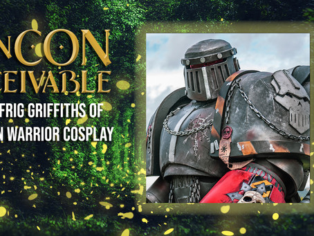 Guest Announcement - IRON WARRIOR COSPLAY