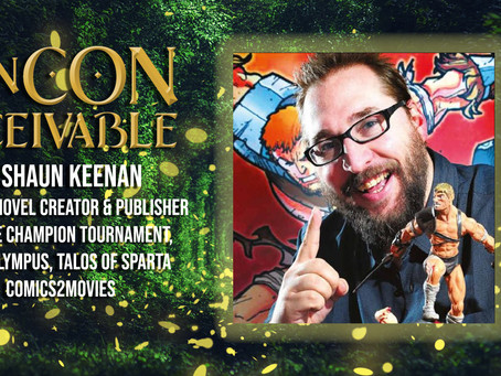 Guest Announcement - SHAUN KEENAN