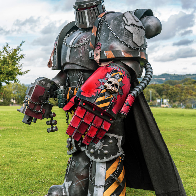 Dyfrig Griffiths - Iron Warrior Cosplay