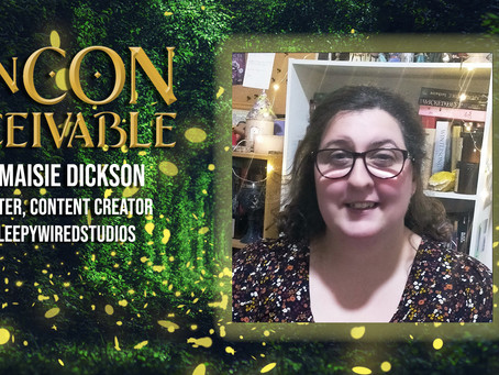 Guest Announcement - MAISIE DICKSON