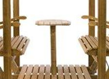 VILLA 4 zits tafel
