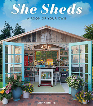The Inner Sanctum of 'She Sheds'