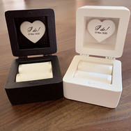 Proposal ring box, Engagement ring box by GregolinoWedding