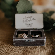 Wedding ring box by Gregolino Wedding