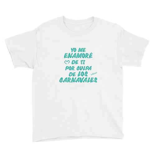 Camiseta Niñ@ 'Yo me enamoré de ti por culpa de los carnavales'