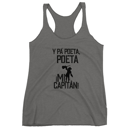 Camiseta 'Y pa poeta poeta, mi Capitán'